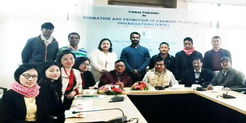 Arunachal: Training on FPOs to boost agri-horticultural growth in Arunachal Pradesh