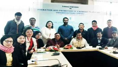 Arunachal: Training on FPOs to boost agri-horticultural growth in Arunachal Pradesh