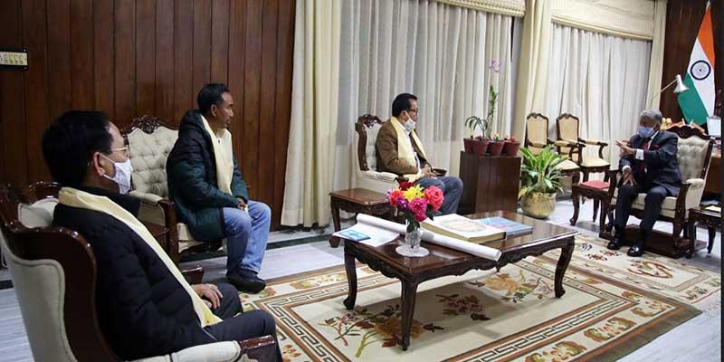 Arunachal:Governor chairs high level meeting on Miao-Vijaynagar Road