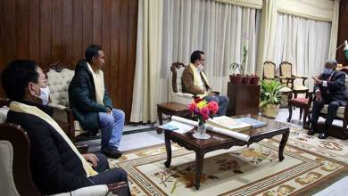 Arunachal: Governor chairs high level meeting on Miao-Vijaynagar Road