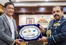 Arunachal: IAF Chief Calls On CM Pema Khandu