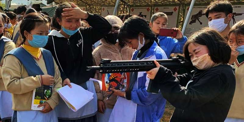 """Arunachal:""""Know your Army"""" mela held at Daporijo"""