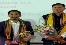 Tame Phasang and Biri Basang elected as Mayor and Dy. Mayor of Itanagar Municipal Corporation
