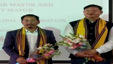 Tame Phasang and Biri Basang elected as Mayor and Dy. Mayor of Itanagar Municipal Corporation