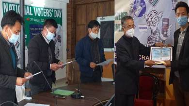 Arunachal: National Voters Day observed all over state