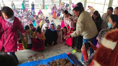 Arunachal: Training on Oyster Mushroom Cultivation for progressive farmer held at Boleng in Siang