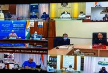Arunachal: Chowna Mein attends Pre-Budget Meeting via video conferencing