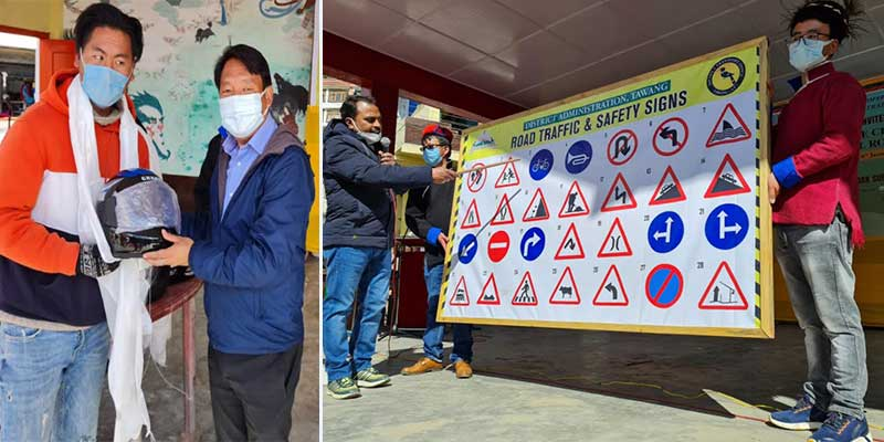 Arunachal: Tawang MLA inaugurates Road Safety awareness programme