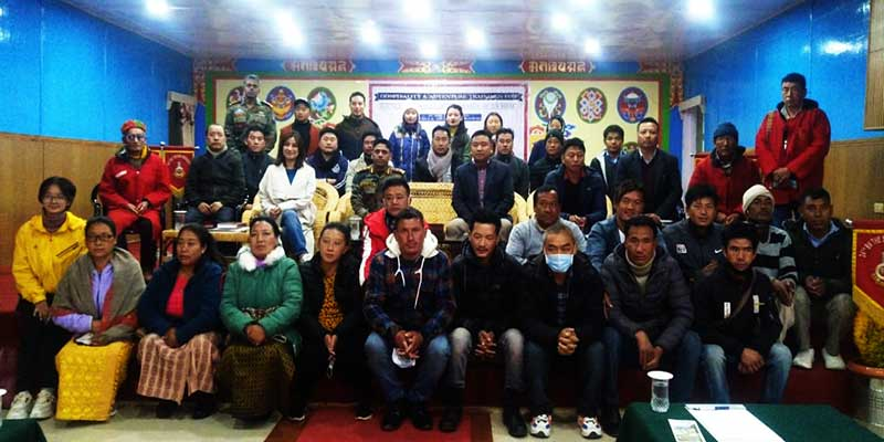 Arunachal: 6 days hospitality and adventure training on tourism begins in Lungla