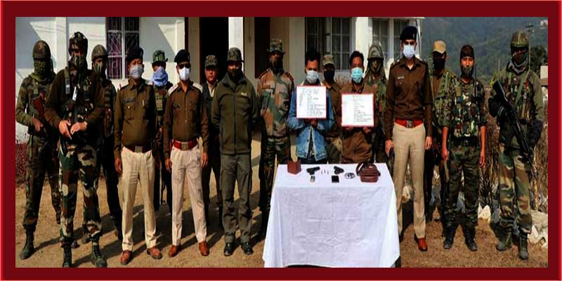 Arunachal: Security forces nabbed 2 UG cadres in Longding