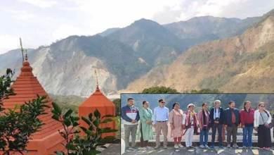 Arunachal: High– Level Team inspects holy Parsuram Kund for better upkeep