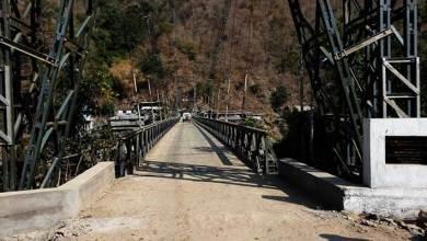 Arunachal:Admin restricted movement of heavy vehicle on Tamen Bailey Bridge