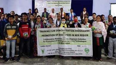 Arunachal: Training cum input distribution programme for farmers held at Kibithoo and Momong