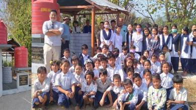 Arunachal: Ringwell cum water supply project for Govt Upper Primary School at Dipik inaugurated