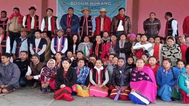 ArunachaL: BBK conducts awareness campaign on Adi Kebang Ayon at Lotong Banggo, Namsai