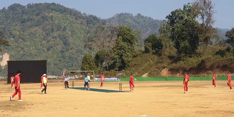 2nd Tado Kholi inter district cricket tournament, begins at Rajiv Gandhi University ground
