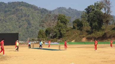 2nd Tado Kholi inter district cricket tournament, begins at Rajiv Gandhi University ground