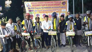 Cycle Expedition from Gujrat to Arunachal reached Itanagar