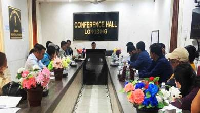 Arunachal:  DCC meeting Held at Longding
