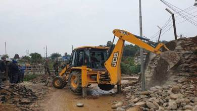 Itanagar: Eviction drive continue from SP office to ESS sector