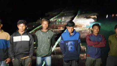 Arunachal: Magistrate intercepts illegal timber logs near Seram Forest Beat, but timber mafias managed to flee with the timber rafts
