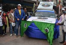 Itanagar: Tame Phassang flags off Swachhata Vaahan