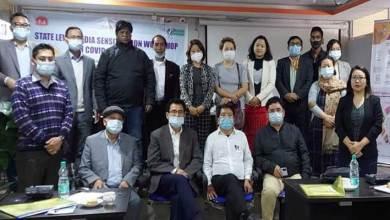 Itanagar-Media sensitization workshop on COVID-19 vaccine