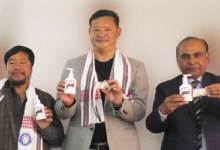 Itanagar: IMC Mayor launches SHL Nahar Oil Soap