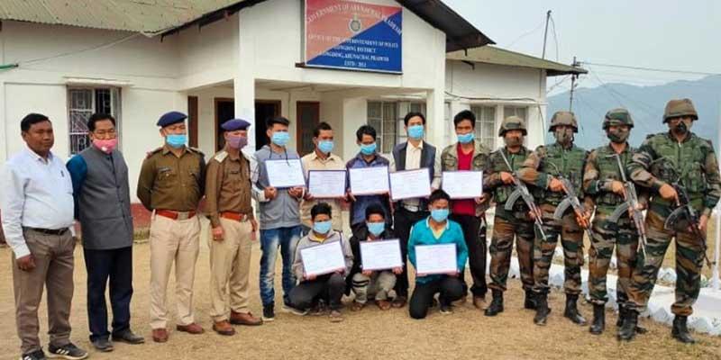 Arunachal: NSCN-K, NSCN-IM militants Surrender in Longding