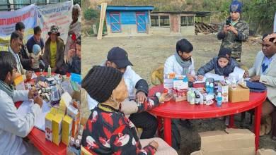 Arunachal Pradesh Seva Bharati conducts18th Dhanvantari Seva Yatra