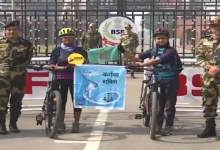 Women on cycling expedition from Wagah border to Arunachal to promote pollution free environment