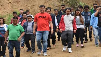 Itanagar: IMC Mayor, Corporators Visit landslides and flood-prone areas
