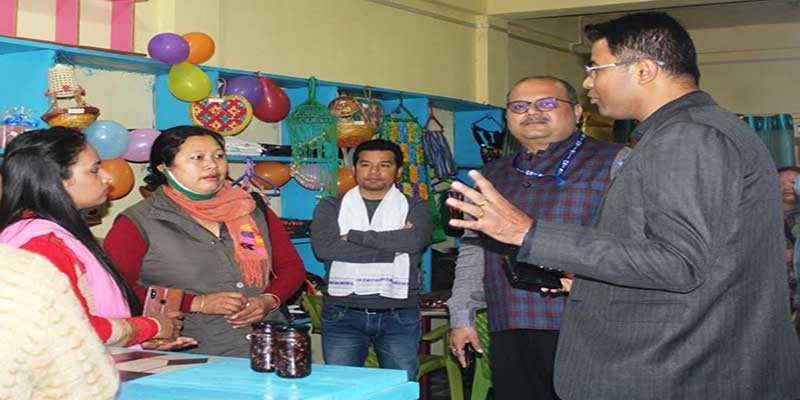 Arunachal: NABARD Supported Rural Mart for SHGs Launched