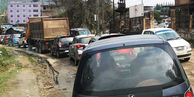Itanagar: Traffic chaos in twin city has made the life miserable