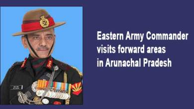 Eastern Army Commander visits forward areas in Arunachal Pradesh