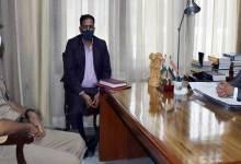 Arunachal: ITBP ADG AM Prasad calls on the Governor BD Mishra