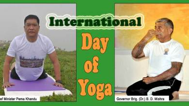 International Day of Yoga: Arunachal Guv, CM extend greetings to the people of Arunachal Pradesh