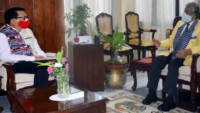 Arunachal Pradesh: Deputy Chief Minister calls on the Governor