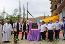 Itanagar: IMC Mayor lays foundation stone of new Boy's Hostel