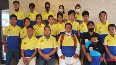 Itanagar: Talo Mugli launches jersey of Kamle district badminton team