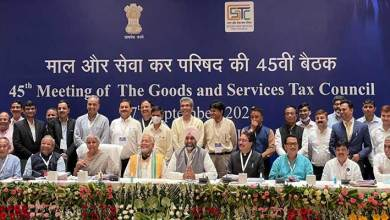 Chowna Mein attends 45th GST Council Meeting held in Lucknow