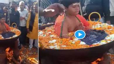 Shocking Video went viral as child sits in boiling water