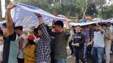 Arunachal Offspring Issue: AAPSU rally at Itanagar, Dharna in dist HQ