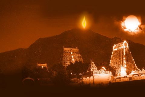 Image result for karthigai deepam in tiruvannamalai