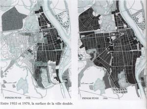 Phnom Penh Urban Expansion Map