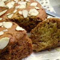Eggless Multigrain Nutmeg &Honey Cake Recipe