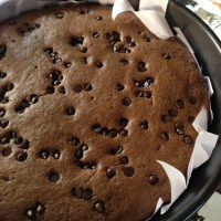 A Simple Choco Chip Chocolate Cake Recipe