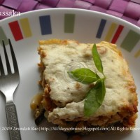 Vegetarian Moussaka Recipe ~ Step by Step Pictures