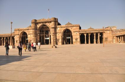 Courtyard of Jami Masjid