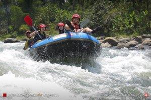 Arung Jeram Sungai Elo Magelang